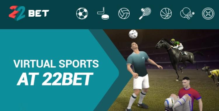 22bet virtual sports