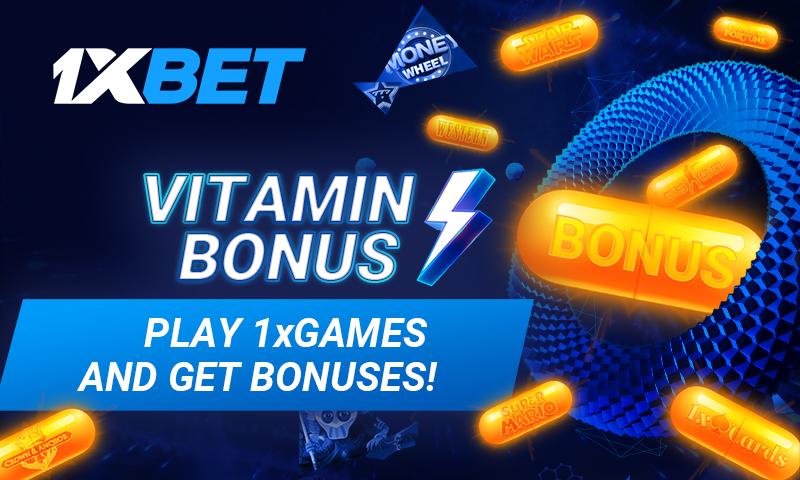 1xbet bonus vitamin