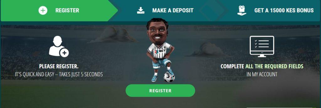 First deposit bonus 22bet Kenya