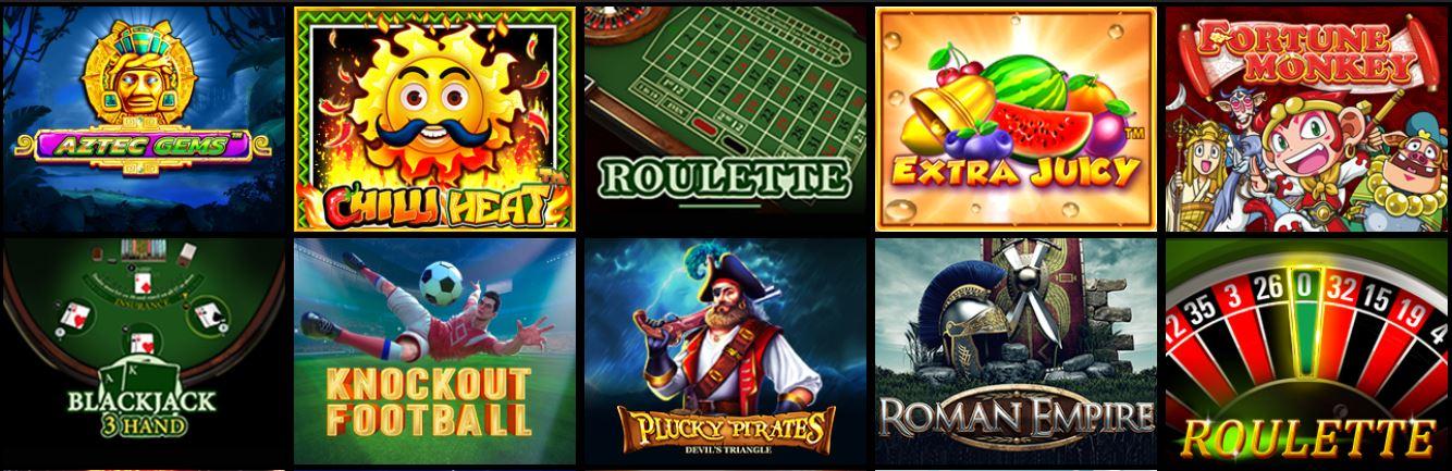 Betika online casino games