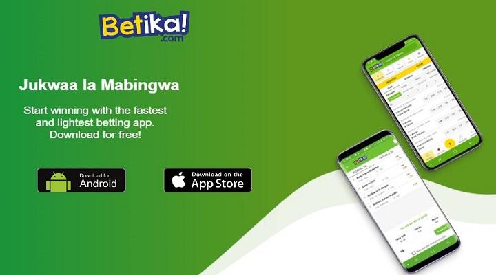 Betika casino mobile app