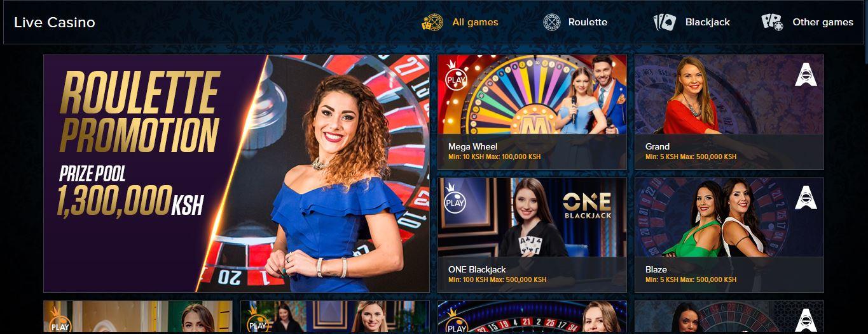 Mozzart Bet Kenya Live Casino