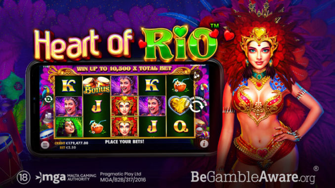 Heart of rio slot game