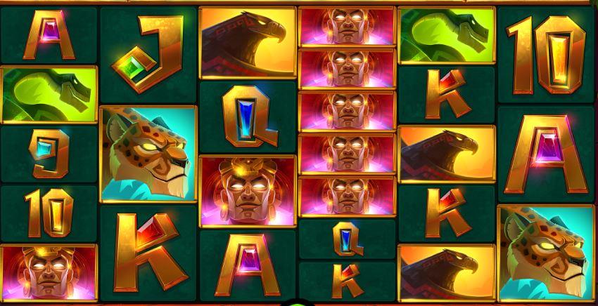Aztec gold megaways symbols