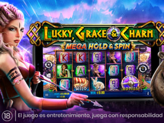 Lucky Grace Charm Hold and Spin