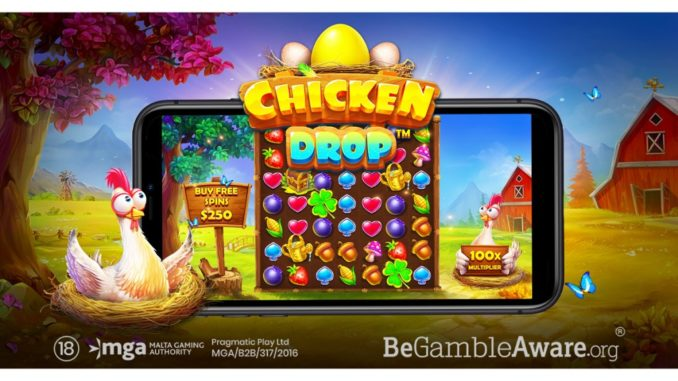 chicken drop slot