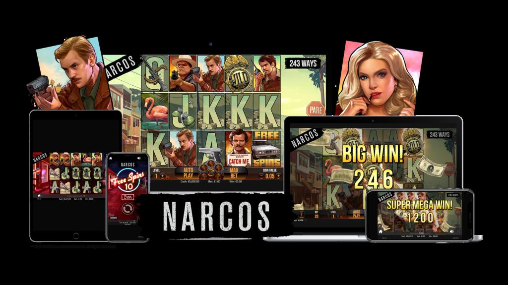 Narcos slot game mobile