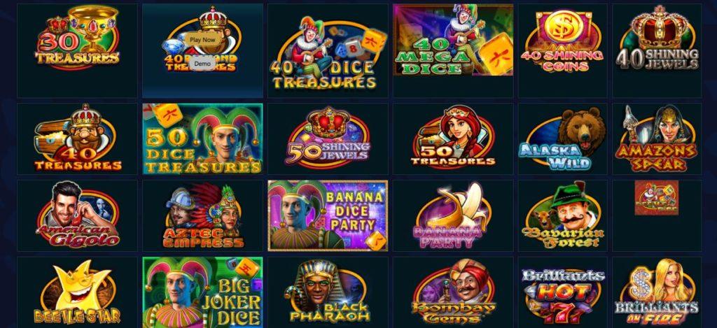 Las Vegas casino slot games