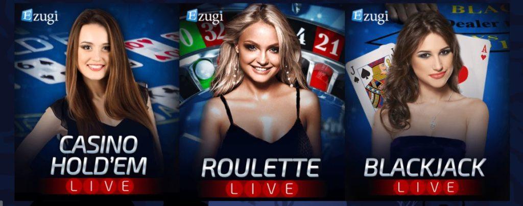 Las vegas casino live casino games