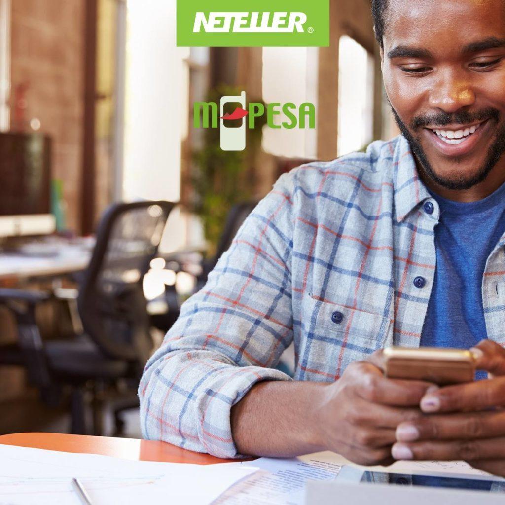 Neteller to M-PESA