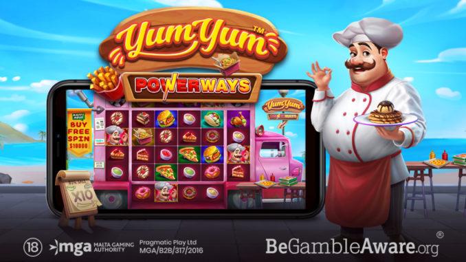 YUM YUM POWERWAYS slot game