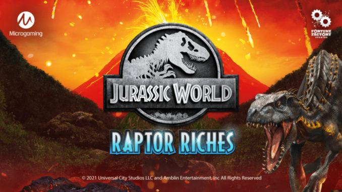 Jurassic World Raptor Riches slot